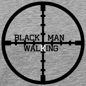 Black Man Walking - Men's Premium T-Shirt
