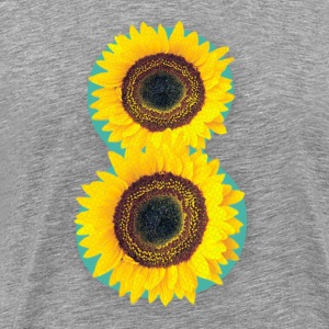 8 Exabytes Sunflower by GVD - Men's Premium T-Shirt