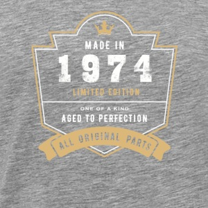 Made In 1974 Limited Edition All Original Parts - Men's Premium T-Shirt
