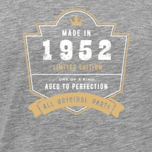 Made In 1952 Limited Edition All Original Parts - Men's Premium T-Shirt