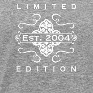Limited Edition Est 2004 - Men's Premium T-Shirt