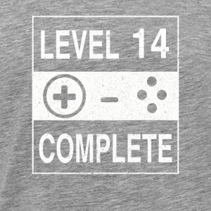 Level 14 Complete - Men's Premium T-Shirt