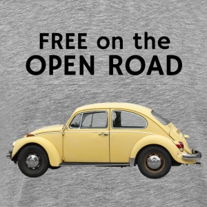 Free on the open road - Men's Premium T-Shirt