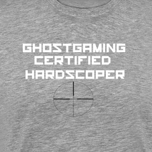 Ghostgaming Certified Hardscoper - Men's Premium T-Shirt