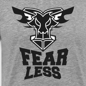 Fear Less-Black - Men's Premium T-Shirt