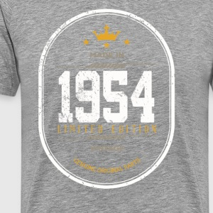 Made In 1954 Limited Edition Vintage - Men's Premium T-Shirt