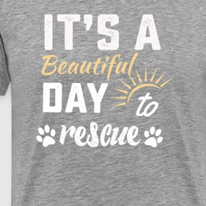 Dog rescue mommy tshirt - Men's Premium T-Shirt