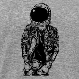 Astronaut Streetpunk. The coolest on the pitch! - Men's Premium T-Shirt