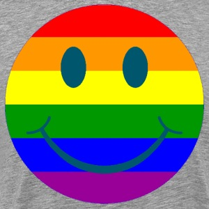 smiley gay - Men's Premium T-Shirt