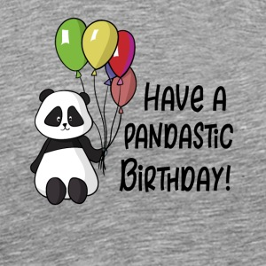 pandastic birthday - Men's Premium T-Shirt