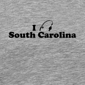 south carolina fishing - Men's Premium T-Shirt