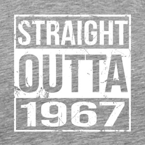 Awesome Since 1967 - Born in 1967 Gifts - Brithday - Men's Premium T-Shirt