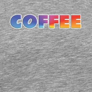 rainbow coffee single - Men's Premium T-Shirt
