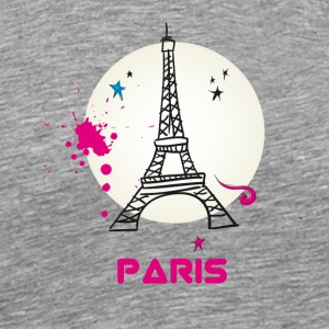 paris Eiffel Tower City Europe Trip France love lo - Men's Premium T-Shirt