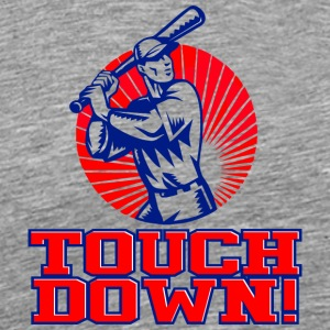 Touchdown baseball - Men's Premium T-Shirt