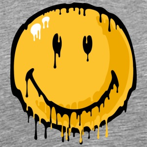 SmileyWorld Melting Smiley - Men's Premium T-Shirt