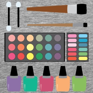 Make up Set - Men's Premium T-Shirt