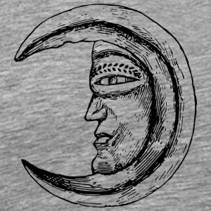 Moon Face - Men's Premium T-Shirt