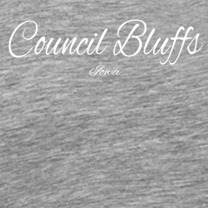 Iowa Council Bluffs US DESIGN EDITION - Men's Premium T-Shirt