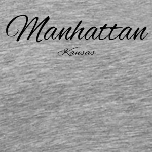 Kansas Manhattan US DESIGN EDITION - Men's Premium T-Shirt