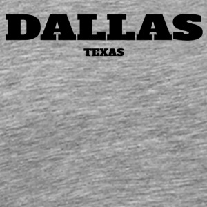 TEXAS DALLAS US EDITION - Men's Premium T-Shirt