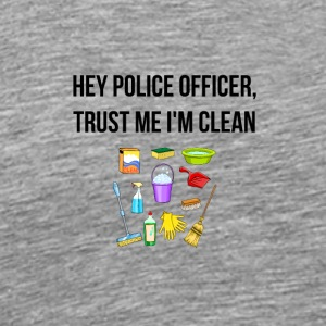 Hey police officer - Men's Premium T-Shirt