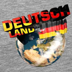 I love Germany - Deutschland - Men's Premium T-Shirt