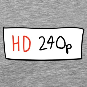 HD 240p - Men's Premium T-Shirt