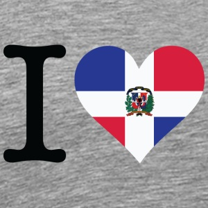 I Love The Dominican Republic - Men's Premium T-Shirt