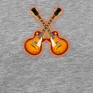 Electric Guitars - Men's Premium T-Shirt
