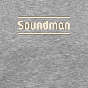 Soundman - Men's Premium T-Shirt
