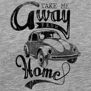 take_me_away_black - Men's Premium T-Shirt