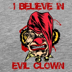 EVIL_CLOWN_35_believe - Men's Premium T-Shirt