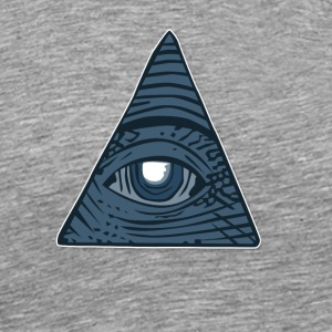 Illuminati All Seeing Third Eye - Men's Premium T-Shirt