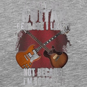 I love guitar shirt - Men's Premium T-Shirt