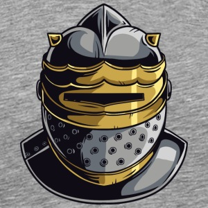 KNIGHT HELMET MASK - Men's Premium T-Shirt