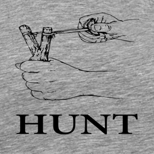 Slingshot Hunt - Men's Premium T-Shirt