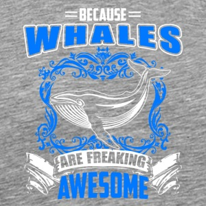 Killer Whale Tee Shirt - Men's Premium T-Shirt