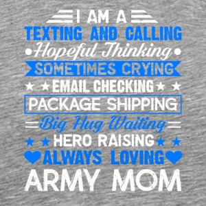 Proud Army Mom Tee Shirt - Men's Premium T-Shirt