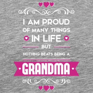 Nothing beats being a grandma - Men's Premium T-Shirt