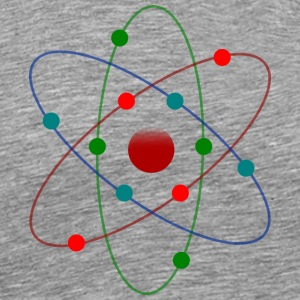 Atom Color - Men's Premium T-Shirt