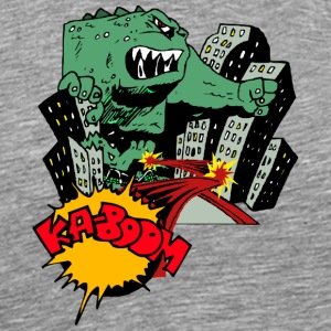 Godzilla Monster - Men's Premium T-Shirt