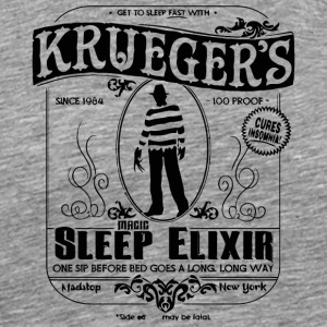 Krueger s Magic Sleep Elixir - Men's Premium T-Shirt