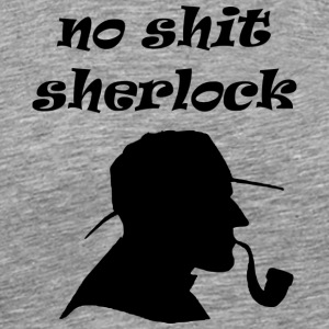 sherlock - Men's Premium T-Shirt