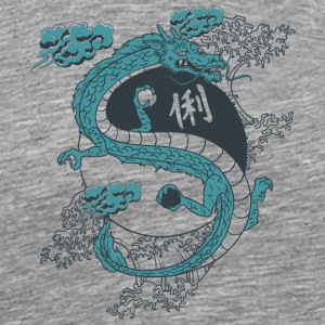 BLUE_DRAGON - Men's Premium T-Shirt