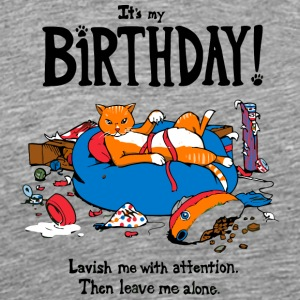 Kitty Birthday - Men's Premium T-Shirt