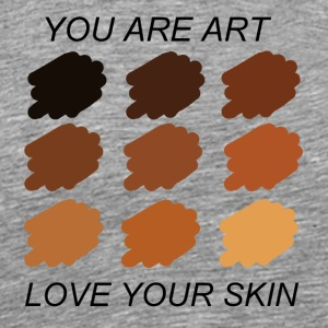 LOVE YOUR SKIN - Men's Premium T-Shirt
