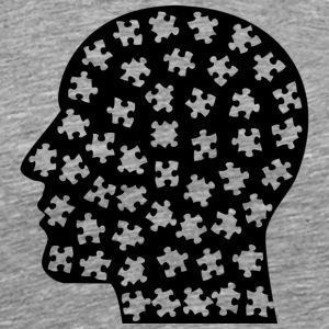 Puzzled Mind - Men's Premium T-Shirt
