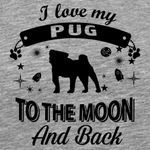Love my Pug - Men's Premium T-Shirt
