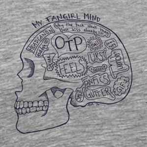 fangirlmind - Men's Premium T-Shirt
